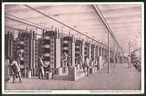 Ansichtskarte Wandsbek, Reichardt-Kakao-Werk, Hydraulische Pressen