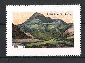 Reklamemarke Berg Sinai, Bilder aus dem heiligen