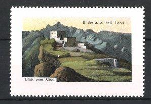 Reklamemarke Blick vom Sinai, Bilder aus dem