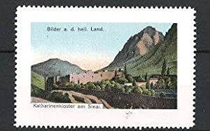 Reklamemarke Katharinenkloster am Sinai, Bilder aus dem