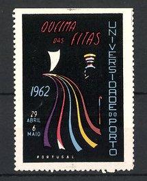 Reklamemarke Porto, Universidade, Queima Das Fitas 1962