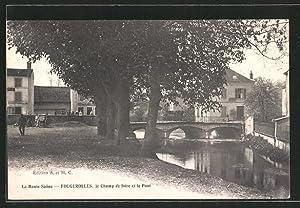 Carte postale Fougerolles, le Camp de foire