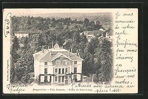 Carte postale Fougerolles, Villa Bresson - Route