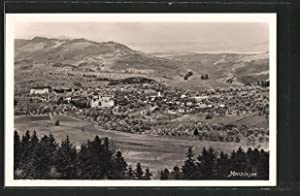 Ansichtskarte Menzingen, Gesamtansicht