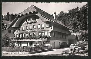 Ansichtskarte Langnau, Partie am Emmentaler Haus