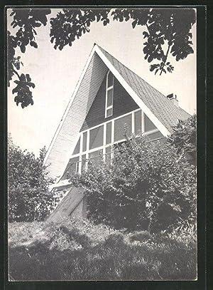 Ansichtskarte Wernetshausen, Jugendzentrum der Evang.-methodistischen Kirche