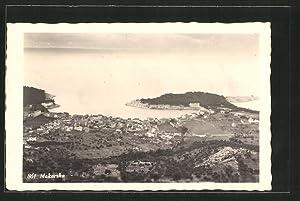 Ansichtskarte Makarska, Blick über den Ort