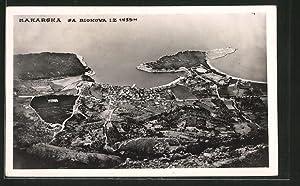 Ansichtskarte Makarska, sa Biokova iz 1435M