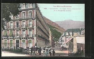 Carte postale Cauterets, le Grand Hotel d'Angleterre