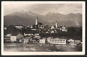 Ansichtskarte Kranj, Ortspanorama