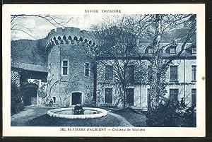 Carte postale Saint-Pierre-d'Albigny, château de Miolans