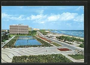 Ansichtskarte Mamaia, vedere pe faleza, Hotel Aurora