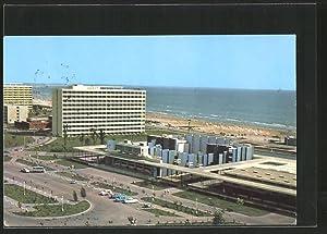 Ansichtskarte Mamaia, Ortspartie am Strand