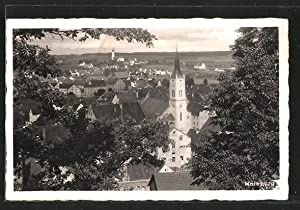 Ansichtskarte Mainburg, Ortspanorama aus der Vogelschau