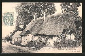 Carte postale Freville, maison normande