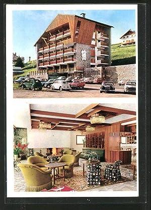 Carte postale Valberg, hôtel l'Adrech de Lagas