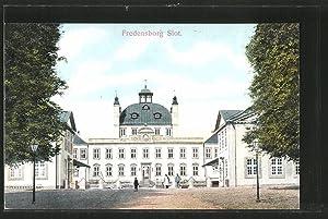 Ansichtskarte Fredensborg, Slot, Blick zum Schloss