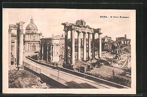 Ansichtskarte Rom, Il Foro Romano