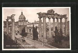 Ansichtskarte Rom, il Foro Romano dal Campidoglio