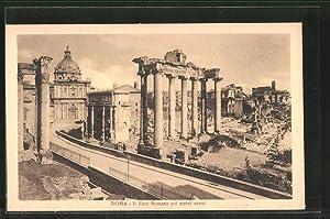 Ansichtskarte Rom, Il Foro Romano coi nuovi