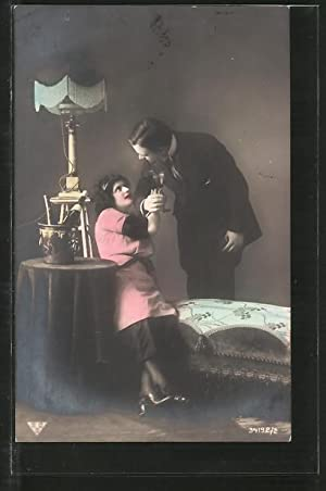 Foto-Ansichtskarte BNK Nr. 34192/2: Dame und Kavalier