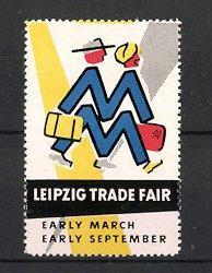 "Reklamemarke Leipzig, Leipzig Trade Fair ""Early March,"
