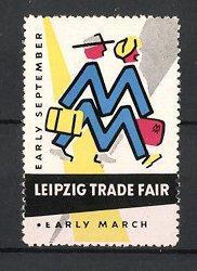 "Reklamemarke Leipzig, Leipzig Trade Fair, ""Early March"