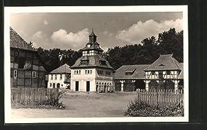 Ansichtskarte Lutterloh, Gasthaus, Pension Otto Hiestermann