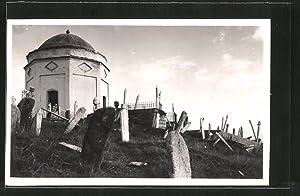 Foto-Ansichtskarte Skoplje / Ueskueb, Tursko groblje Guzibaba