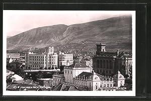 Ansichtskarte Skoplje / Ueskueb, Teilansicht der Stadt