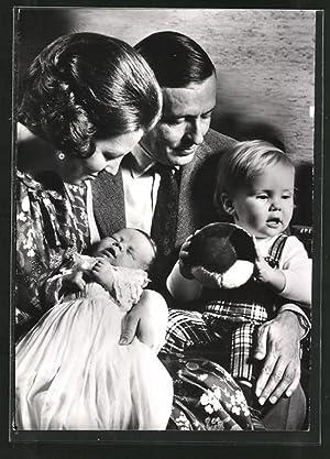 Ansichtskarte Prinses Beatrix en Prins Claus met