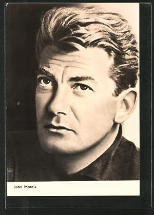Ansichtskarte Schauspieler Jean Marais in nachdenklicher Pose