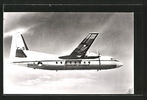Ansichtskarte Fokker F-27 Friendship, Verkehrsflugzeug der niederländischen