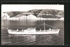"""Ansichtskarte Kriegsschiff """"MS Silver Gate"""""""