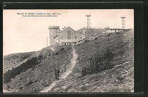 Carte postale Mont-Aigoual, Vue de l'Observatoire, Aussichtsplattform