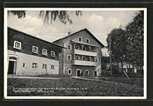 Ansichtskarte Kostenz, Erholungsheim der Barmh. Brüder Kostenz