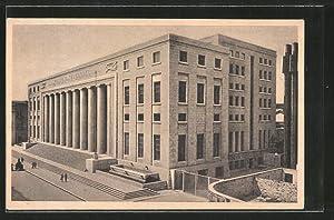 Cartolina Palermo, Palazzo Poste e Telegrafi