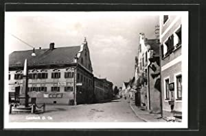 Ansichtskarte Lembach, Strassenpartie mit Gasthaus von Franz
