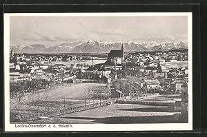 Ansichtskarte Laufen, Gesamtansicht mit Oberndorf