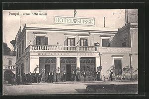 Cartolina Pompei, Grand Hotel Suisse