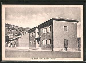 Cartolina Pesaro, Sede della Filiale di Fossombrone