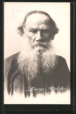 Ansichtskarte Leone Tolstoi, Brustportrait des Schriftstellers