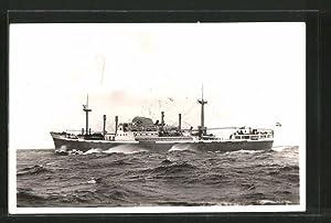 """Ansichtskarte Handelsschiff """"M.S. Prins Willem van Oranje"""""""