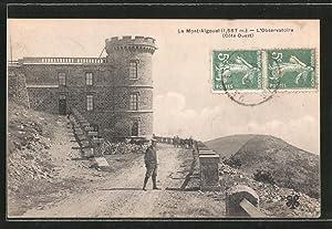 Carte postale Le-Mont-Aigoual, l'observatorie