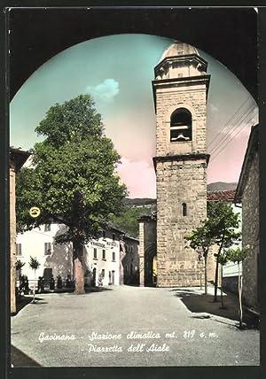 Cartolina Gavinana, Piazzetta dell' Aiale