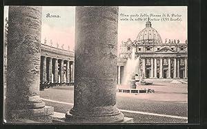 Ansichtskarte Roma, Piazza di S. Pietro vista