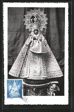 Maximum-Ansichtskarte Maria mit dem Jesuskind, Kirchenschmuck