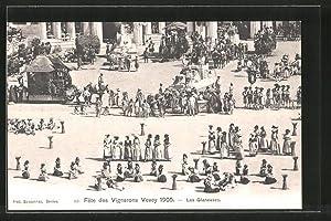Ansichtskarte Vevey, Fete des Vignerons 1905, Les