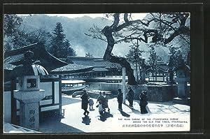 Ansichtskarte Itsukushima, The Main Shrine of the