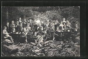 Ansichtskarte Herborn, Abschieds-Kommers 1911